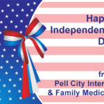 Pell City Internal and Family Medicine announces their 2016 Independence Day Holiday Hours. Offices will be closed Sun & Mon-July 3 & 4, 2016 | 205.884.9000